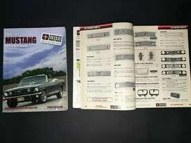Revista de partes para restaurar MUstang