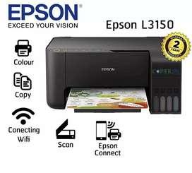 Impresora Multifuncion epson l3150 wifi tinta continua