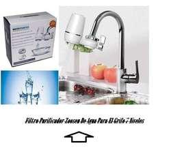 Filtro Purificador De Agua Para El Grifo 7 Niveles