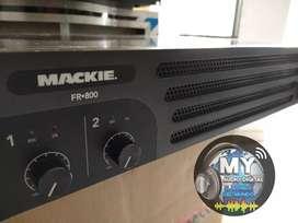 AMPLIFICADOR MACKIE FR800