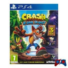 Crash Bandicoot: N. Sane Trilogy Ps4 Físico