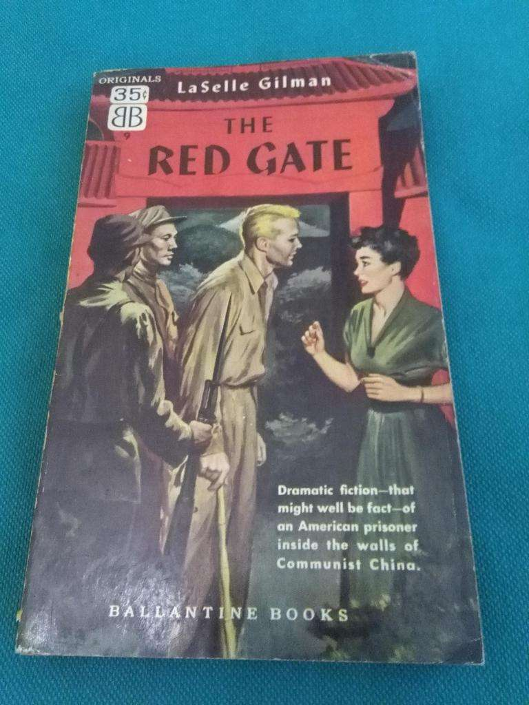 THE RED GATE . LASELLE GILMAN . LIBRO NOVELA EN INGLES 0