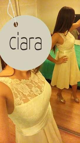 Vestido de Novia o Fiesta Marca CIARA un solo uso