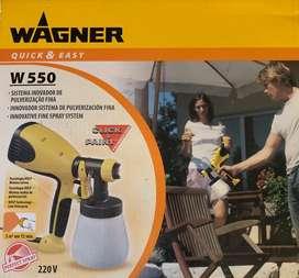 Wagner W550 - pistola para pintar