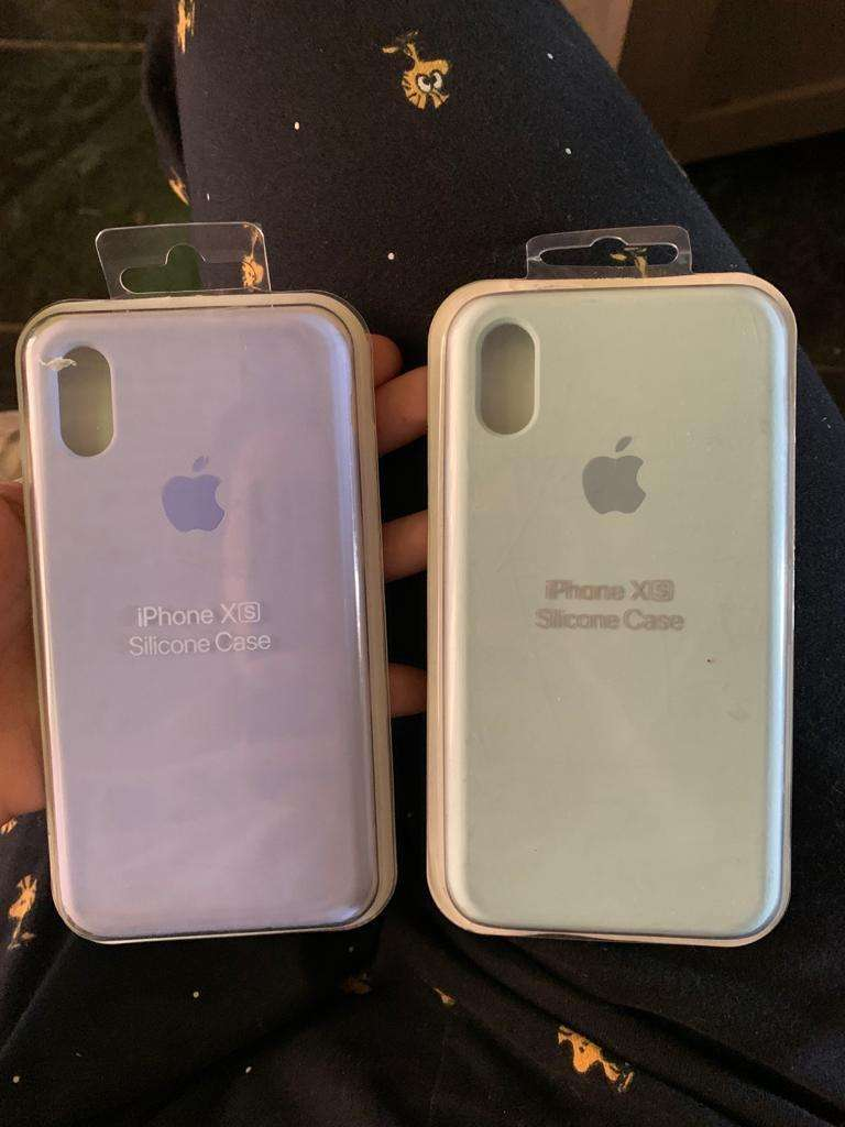 Cover silicon Iphone XS 0