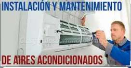 Tecnico especializado mantenimiento instalación desinstalación y reparación de aires acondicionados Neveras y lavadoras