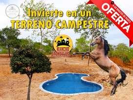 TU LOTE CON SOLO 100 DE ENTRADA / TERRENO / CASA CAMPESTRE / CRÉDITO DIRECTO SD2