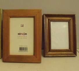 Portarretratos confeccionados en madera