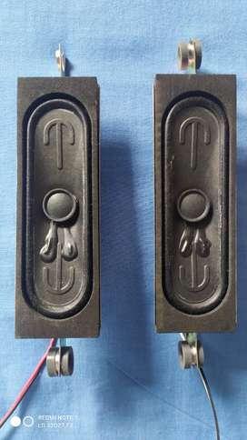 Vendo Parlantes Botón Tv Challenger LD 32D27 T2