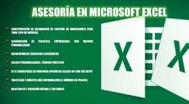 Clases de Microsoft Excel S./20