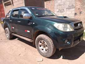 Vendo camioneta Toyota 4X4 Hilux 2008