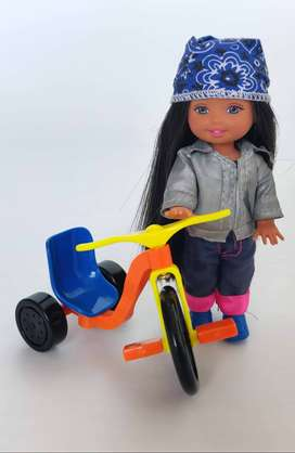 Kelly Club Baby Biker Belinda (Producto Original)