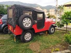 Jeep willys modelo 59