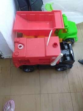 Camiones de plástico