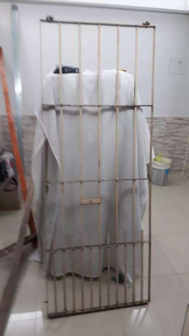 PUERTA DE HIERRO DE 77 CM X 200 CM DE ALTO (CORREDIZA) 0