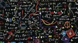 Clases virtuales de matemáticas en todos los niveles y asesoría en tareas.