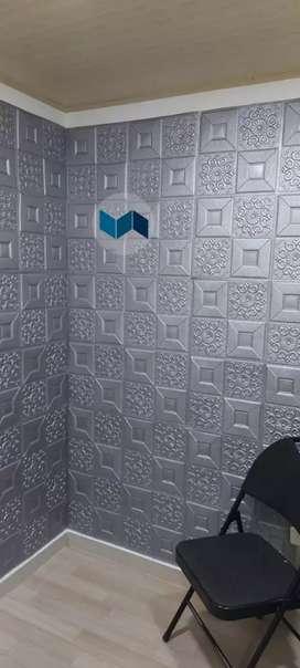 Panel o Laminas Autoadhesivas 3d para pared