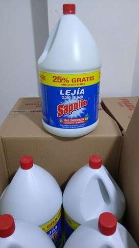 Lejia Sapolio X 5 Litros
