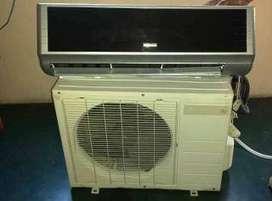 Aire split 12.000 btu 220 voltios usado