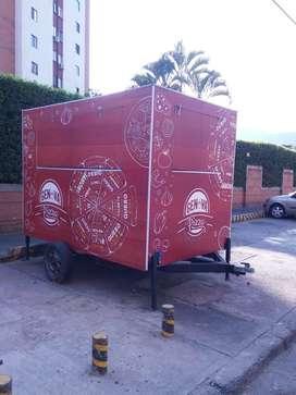 Food truck - trailer de comida rapida