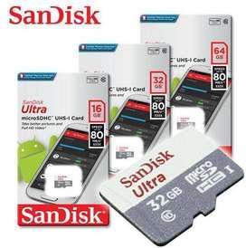 MICRO SD 16 GB / 32 GB/ 32 GB SANDISK
