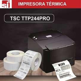 Gran remate!!  Impresora Termica TSC 244 PRO - Codigos de Barras