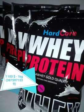 Proteína pura saborizada (frutilla)