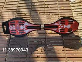 Patineta de dos ruedas waveboard usado