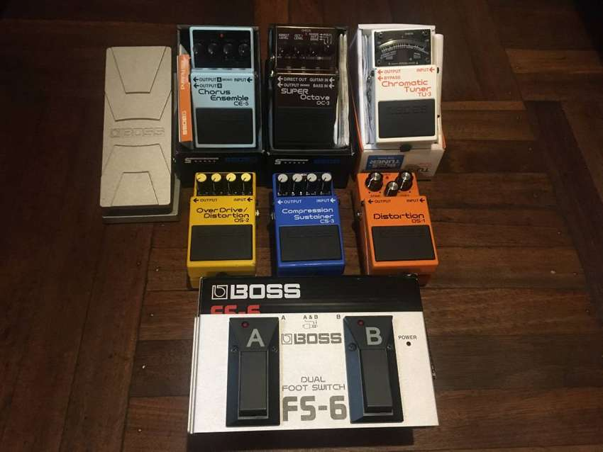 Pedales Analogos Para Guitarra Boss