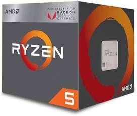 Procesador Amd Ryzen 5 3400g 4 núcleos 8 hilos Gráficos Radeon RX Vega 11 Integrados