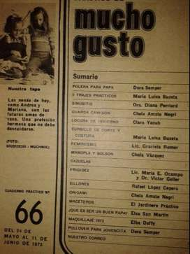 Mucho Gusto - Cuaderno Practico Nº66-1973 Sin Tapa