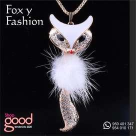Collar FOX Y FASHION  Bello