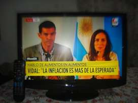 Televisor Lcd 22 Aoc C/ctrl Rem Hdmi Muy Buena Imagen!!