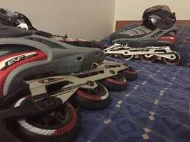 Patines Roller Boomerang SoftMax EVP Abec 5 Negociable