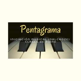 Clases de piano e iniciación musical