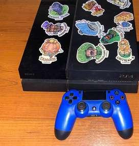PS4 de 500gb 1 joystick NO PERMUTO NO BAJO PRECIO
