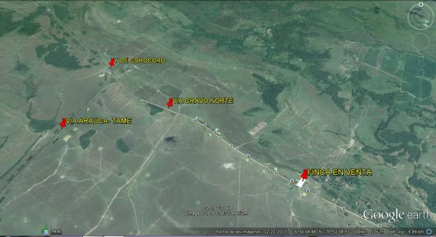 Finca en Arauca se vende via pav. cravo Km 3 - wasi_181993 - inmobiliariala12 0