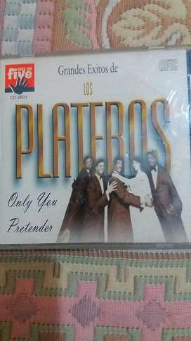 CD GRANDES ÉXITOS DE LOS PLATEROS