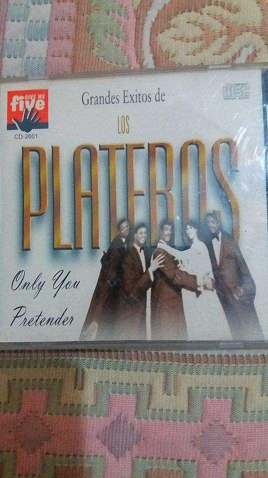 CD GRANDES ÉXITOS DE LOS PLATEROS 0