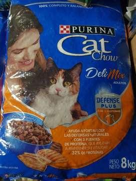 vendo comida de gato y perro