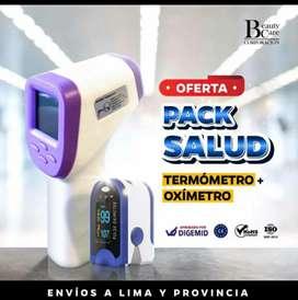 PACK Termometro+Oximetro