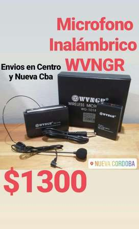 Microfono Wvngr Inalambrico Tipo Vincha
