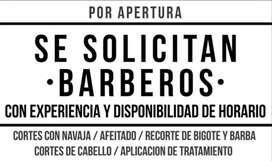 Se Solicita Barbero Urgente