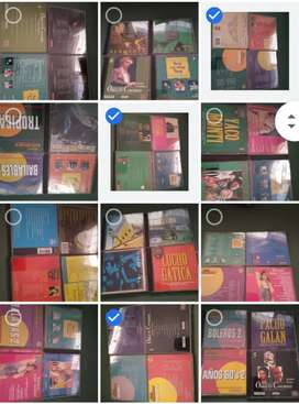 Vendo 100 cd.s cromos y otros