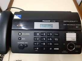 Teléfono Fax Panasonic Kx-tf988 Contestador Id Papel Térmico