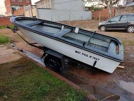 Vendo o permuto bote con motor