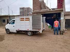 Camioneta taxi carga y mudanza
