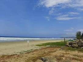 Olon terreno al mar heermosa playa privada