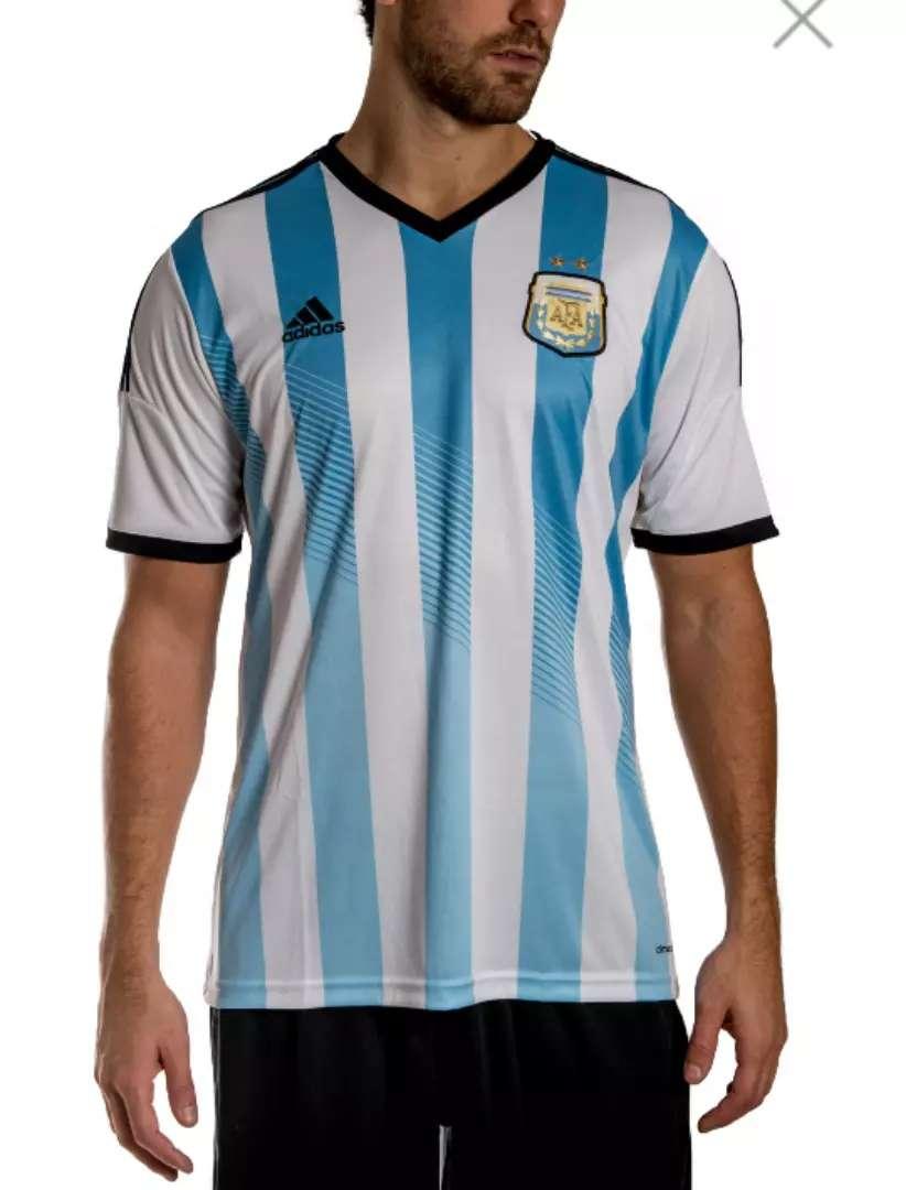 Camiseta Adidas Argentina-titular 2014-talle M