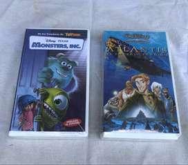Películas De Disney - Formato Vhs - Nuevas! (cerradas)